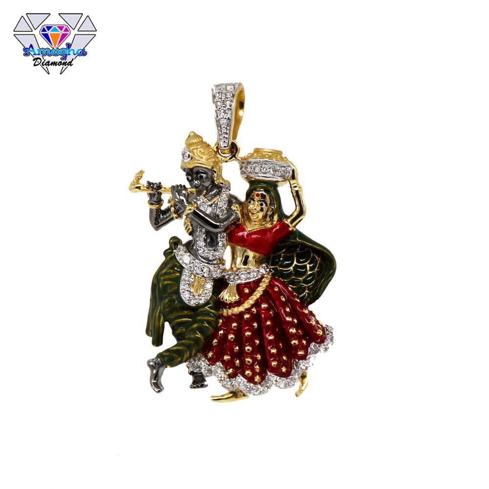 DIAMOND GOD PENDANT (JMBJ-DP4)
